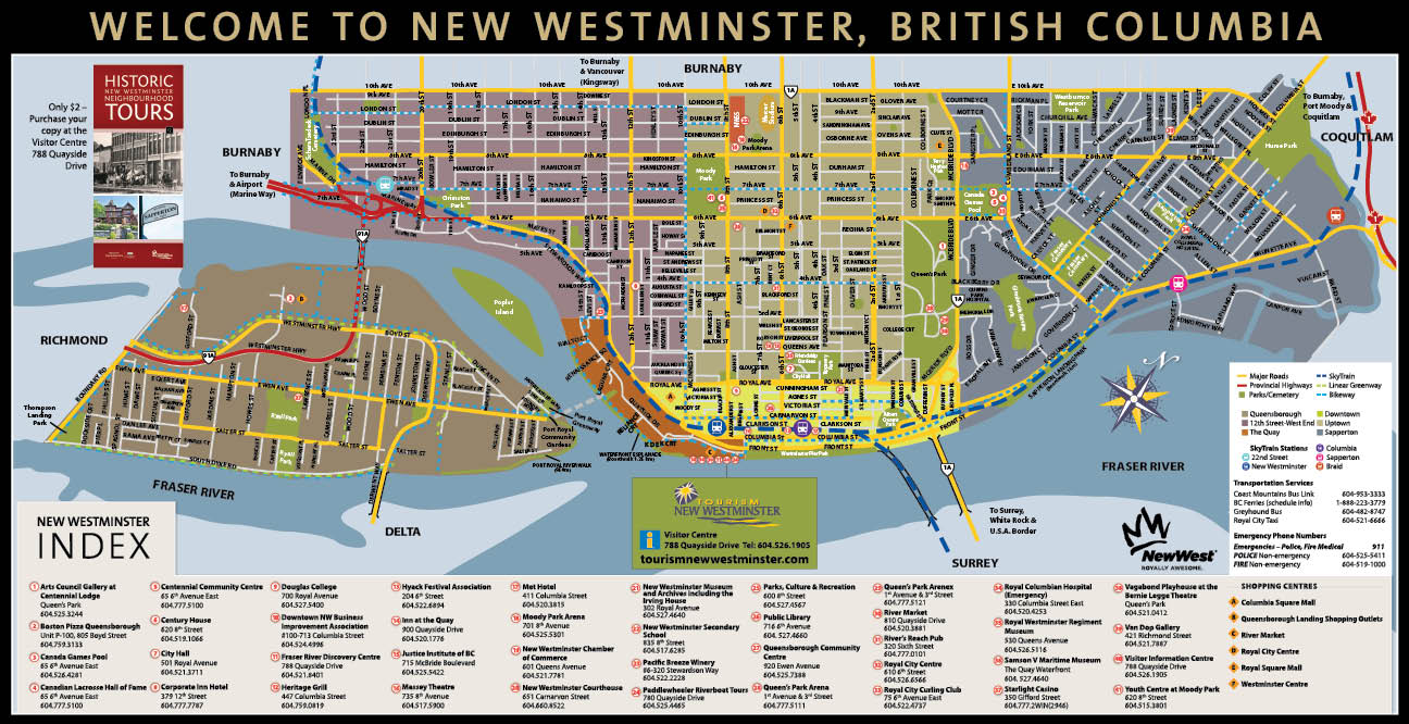 New Westminster Map New Westminster Map | compressportnederland New Westminster Map