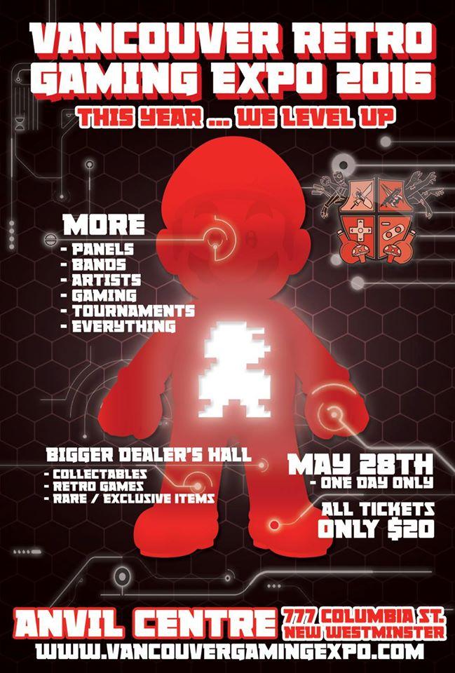Vancouver Retro Gaming Festival 2016