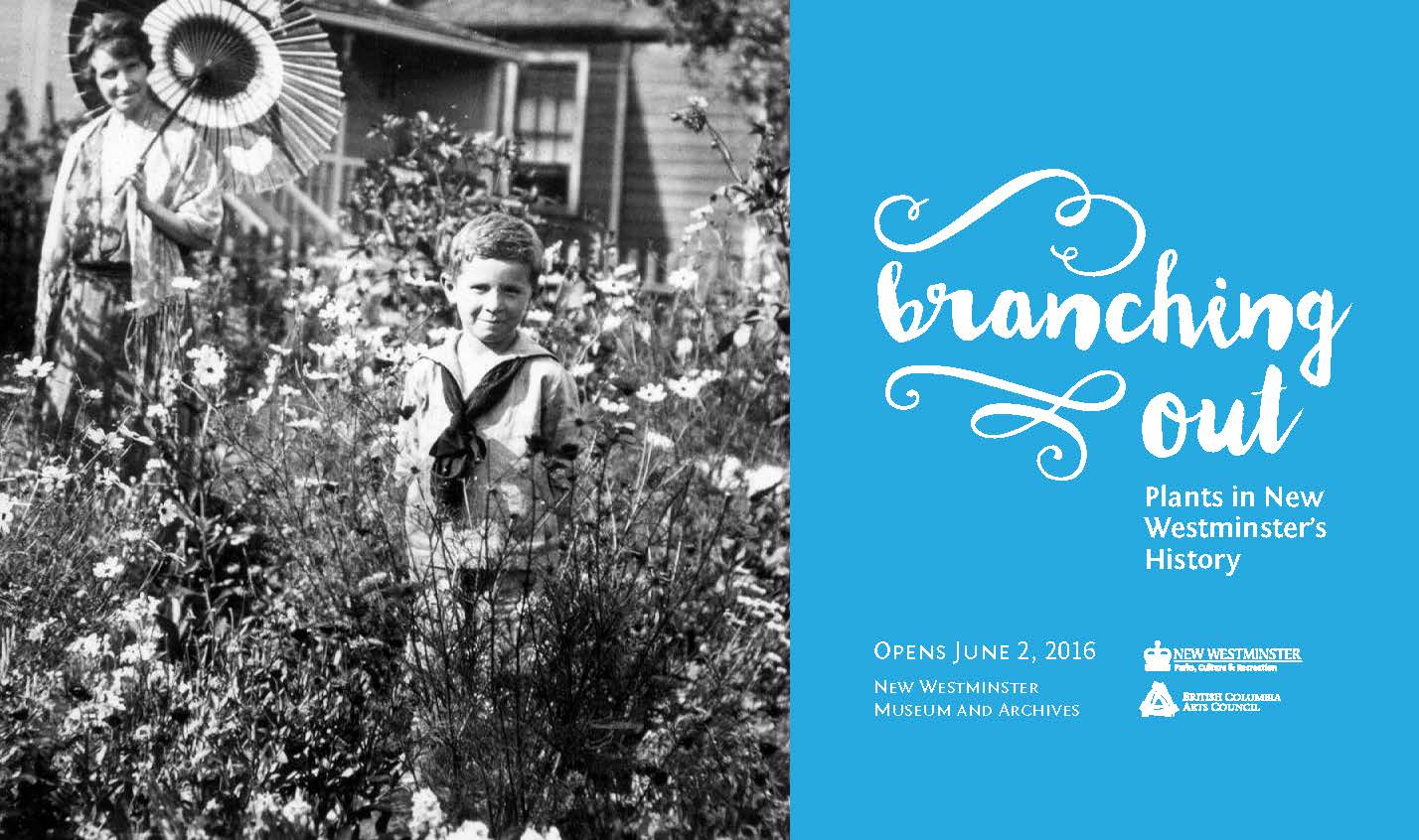 Branching Out Plant Exhibition Poster