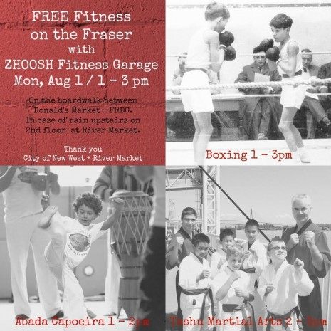 Free Fitness for Families on the Fraser River
