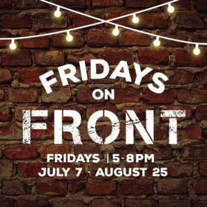 Fridays on Front information