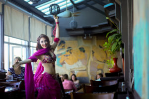 Belly Dancing at Taverna Greka