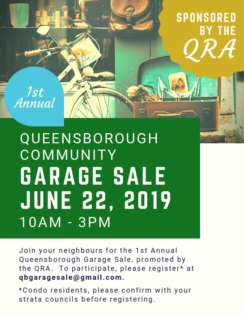 Queensborough Community Garage Sale Events Tourism New West
