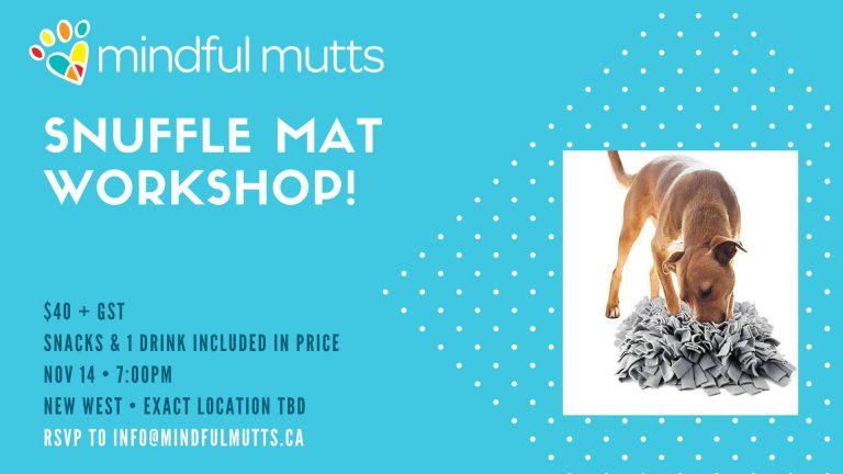 Snuffle Mat Workshop