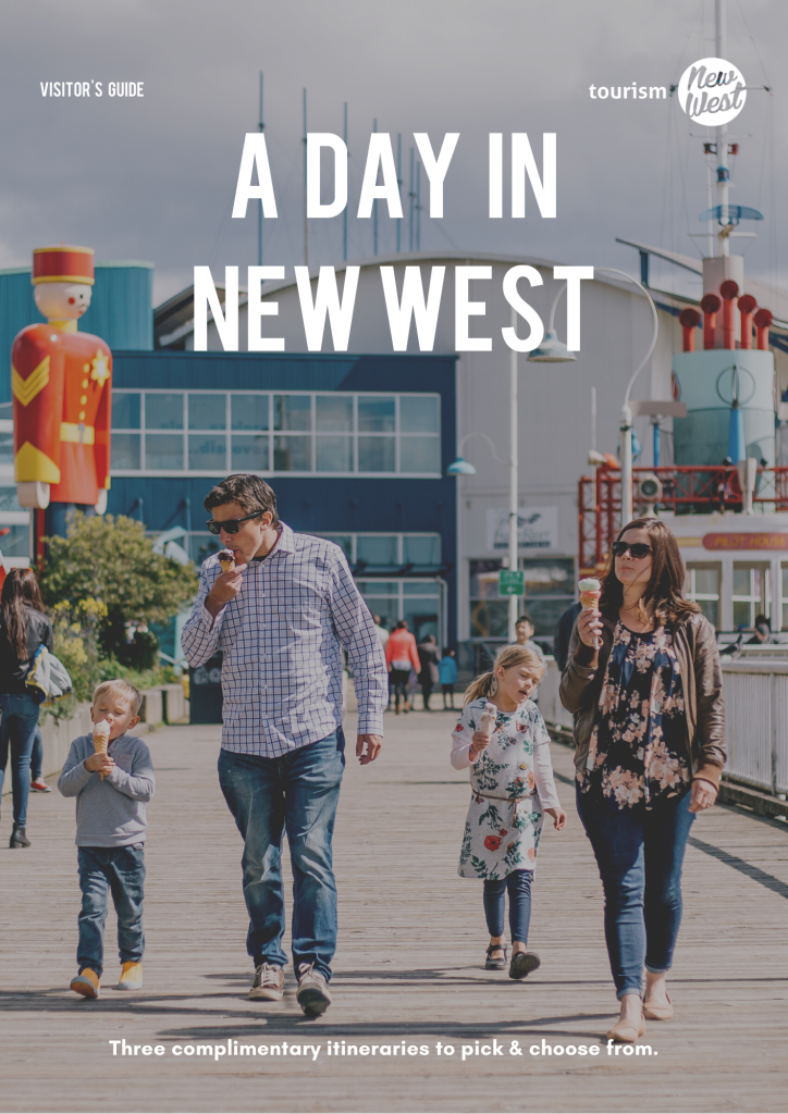 A DAY IN NEW WEST Visitor's Guide