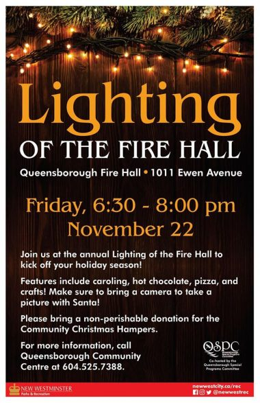 Lighting of the Fire Hall