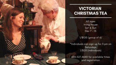 Victorian Christmas Tea